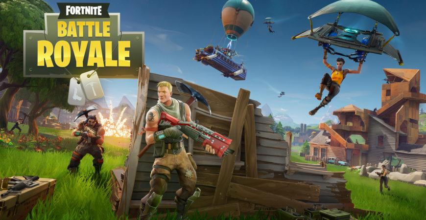 Fortnite Battle Royale – My First Kill