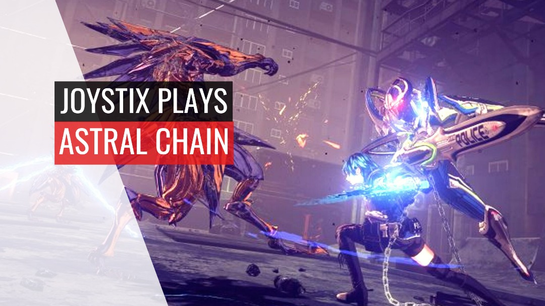 Joystix Plays: Astral Chain