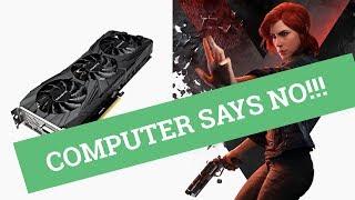 Joystix Plays:  Control – 20 mins PC Game play